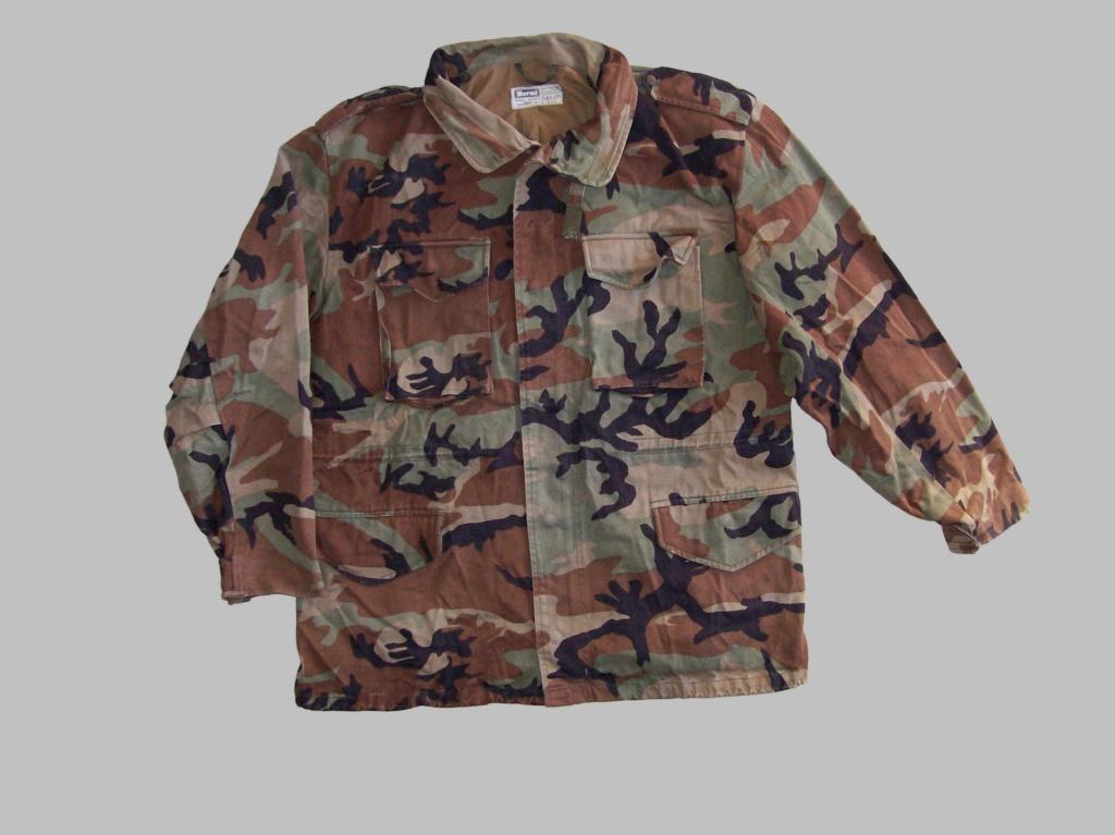 Bosnian woodland camouflage jacket & shirt 100_1010