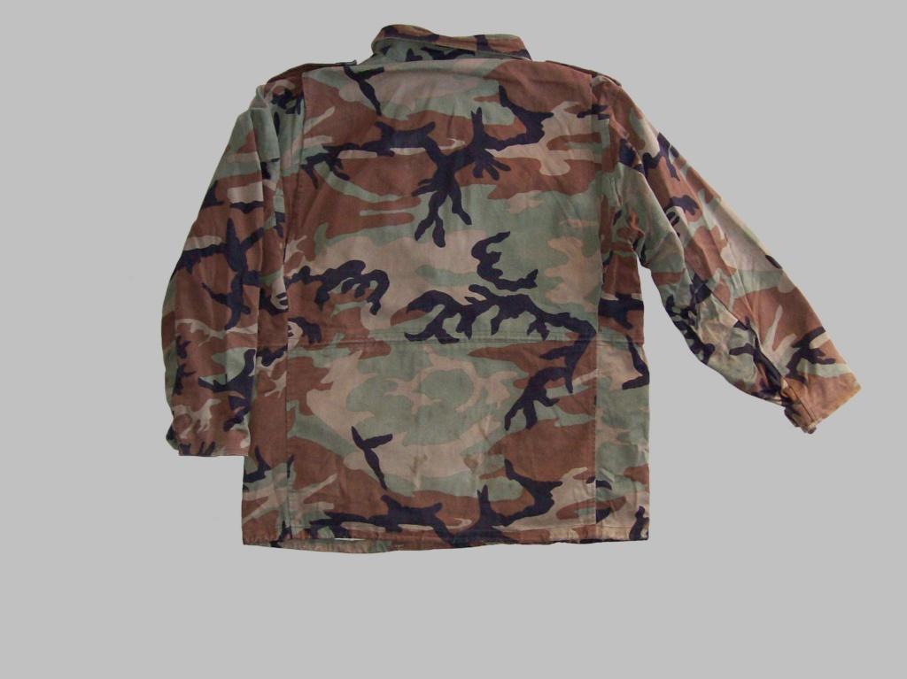 Bosnian woodland camouflage jacket & shirt 100_1011