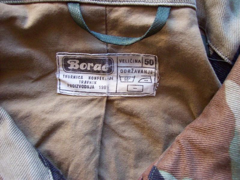 Bosnian woodland camouflage jacket & shirt 100_1012