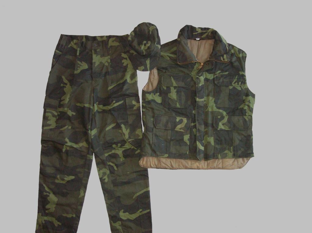 Bosnian woodland camouflage jacket & shirt 100_6815