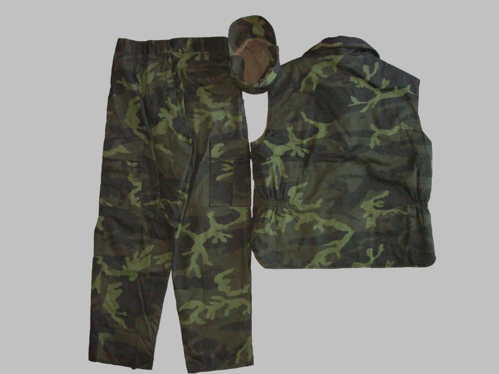 Bosnian woodland camouflage jacket & shirt 100_6816