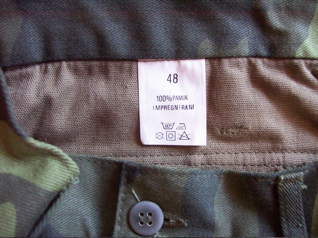 Bosnian woodland camouflage jacket & shirt 100_6817