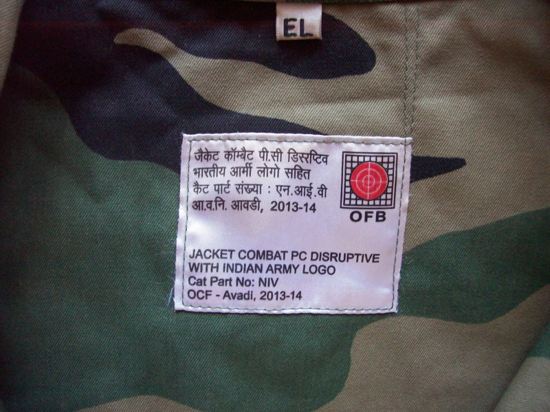 Indian Army PC DPM uniform 100_6821