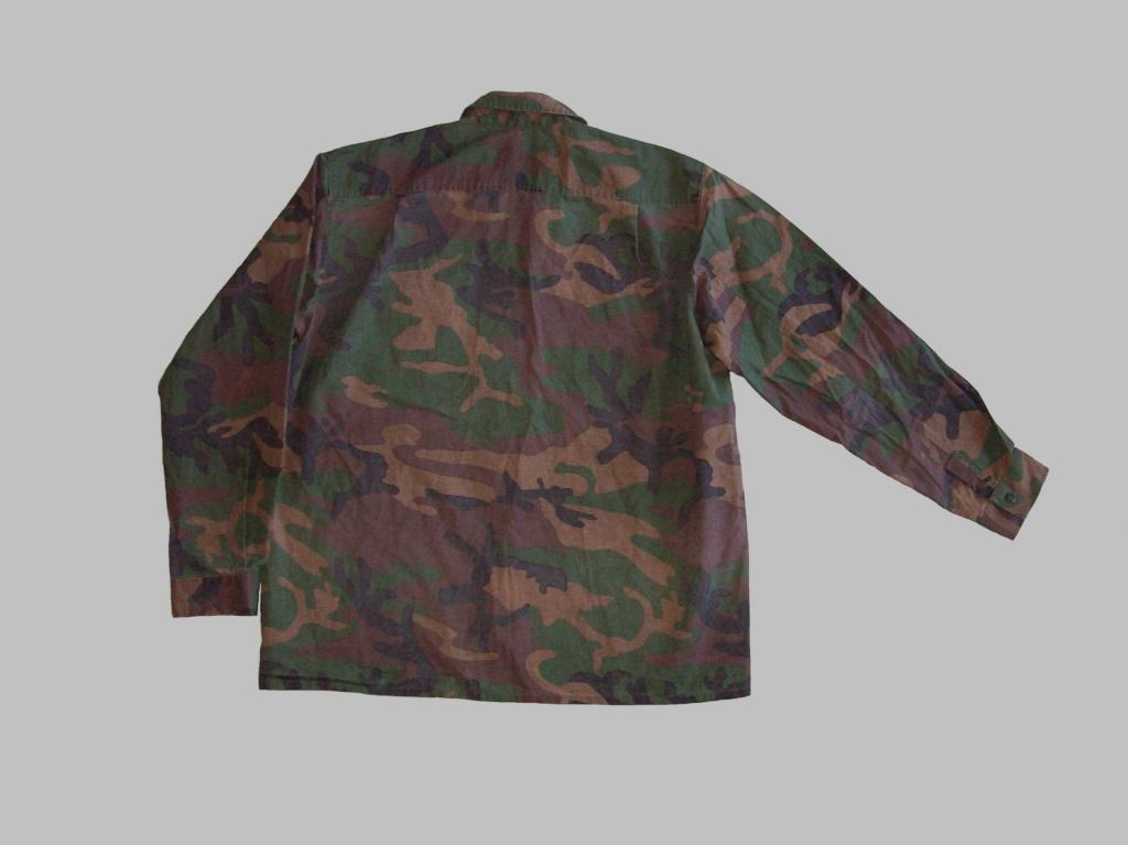 Bosnian woodland camouflage jacket & shirt 100_6914