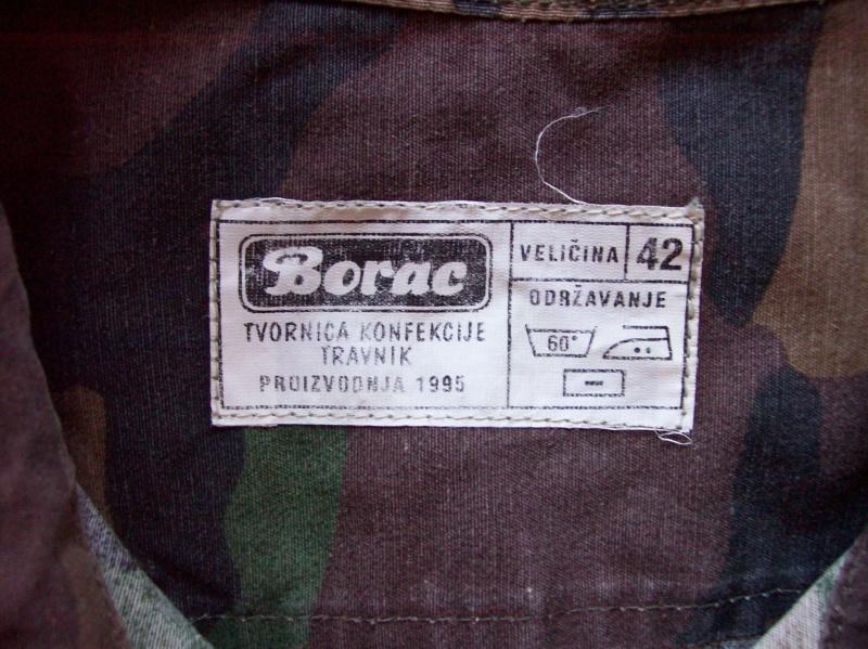 Bosnian woodland camouflage jacket & shirt 100_6916