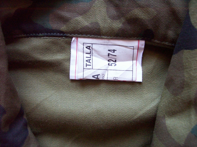 "Various Spanish Army ""Woodland"" uniforms 100_8316"