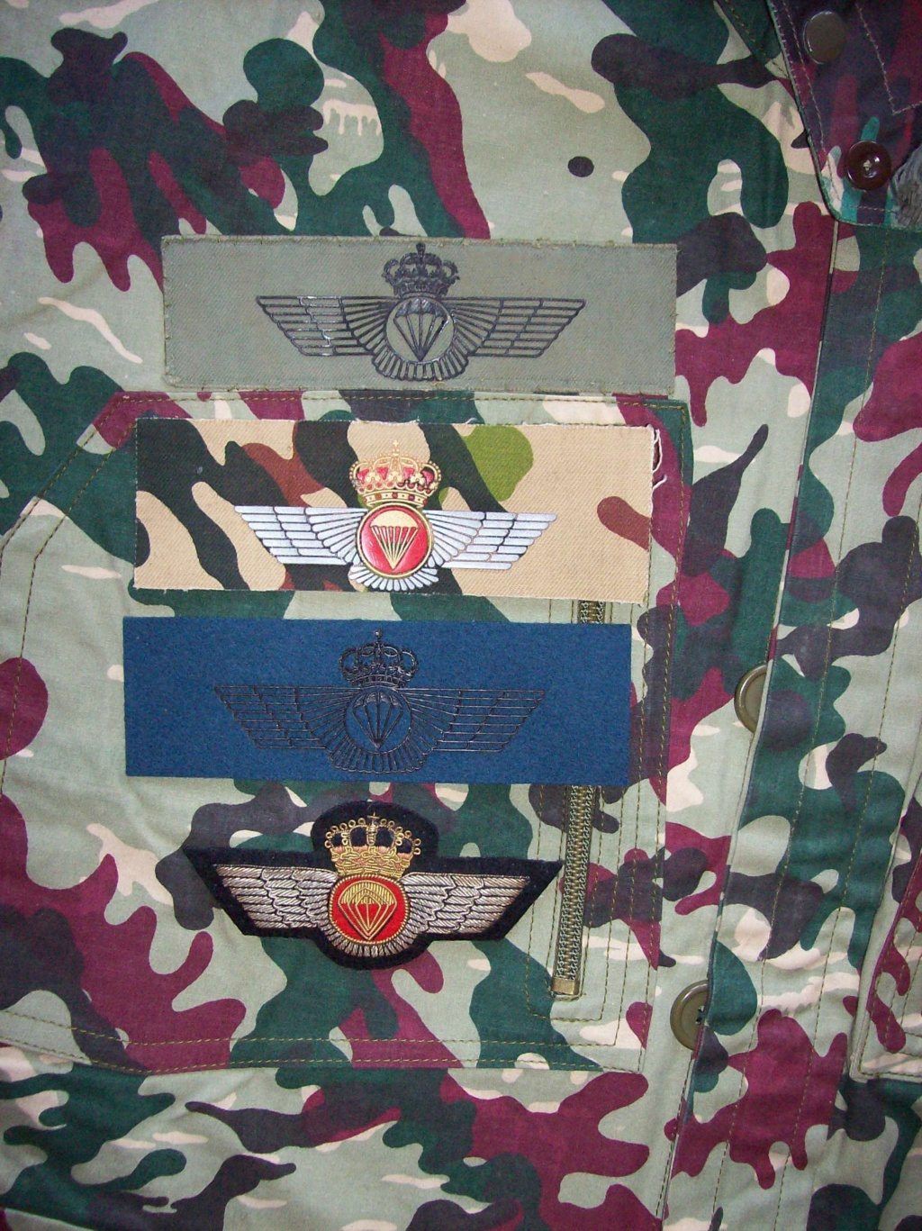 Spanish  Para patches 100_9510