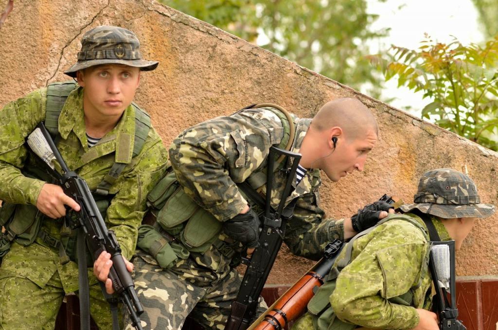 Modern Ukrainian uniform in photographs Ukrain10