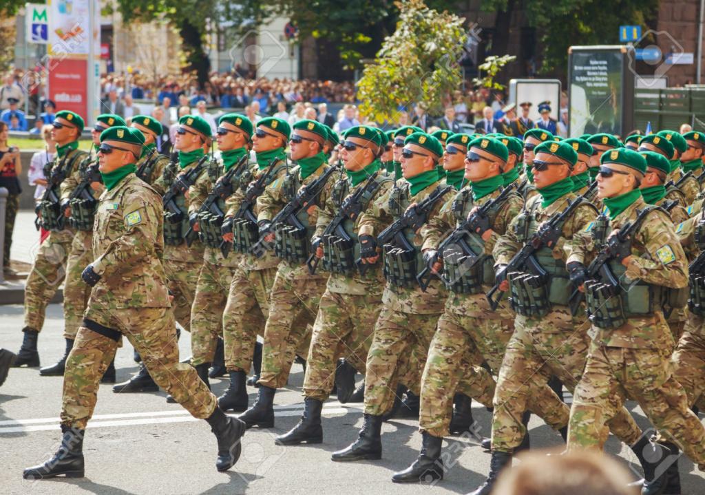 Modern Ukrainian uniform in photographs Ukrain11