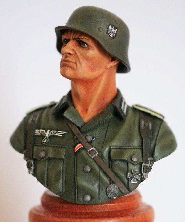 Buste infanterie Allemande de chez Andrea Img_8011