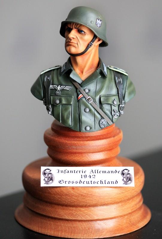 Buste infanterie Allemande de chez Andrea Img_8027