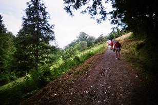 Photo de la montée du Nid d'Aigle-St Gervais Km11_c10