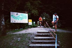 Photo de la montée du Nid d'Aigle-St Gervais Km1_le10