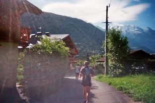 Photo de la montée du Nid d'Aigle-St Gervais Km3_le10