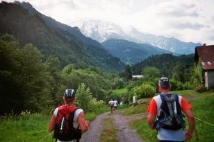 Photo de la montée du Nid d'Aigle-St Gervais Km8_to10