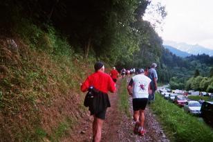 Photo de la montée du Nid d'Aigle-St Gervais Km9_mo10