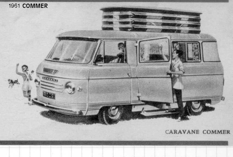 camping car vintage Commer10