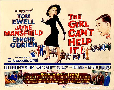 LA BLONDE ET MOI // THE GIRL CAN'T HELP IT - 1956 Girl10