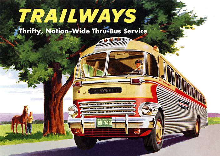 Autobus retro Trailw10