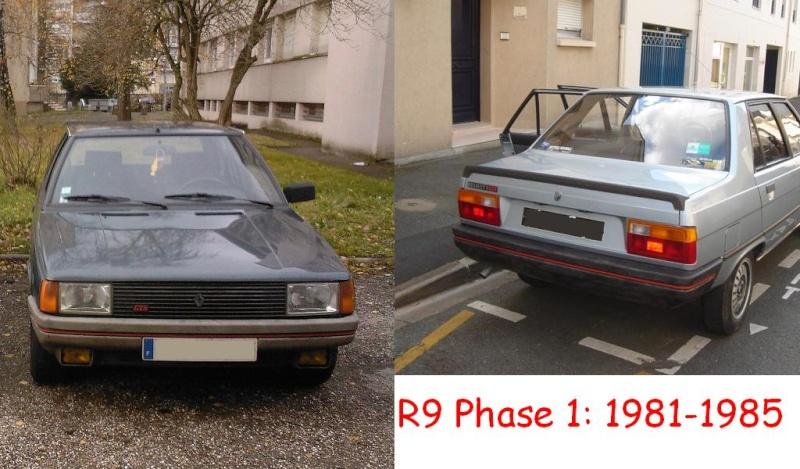 Les différentes phases de R9 et de R11 Sp_a0051