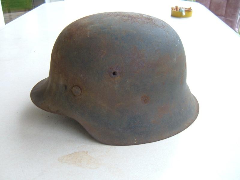 Vos casques allemands WW2... - Page 9 Casque10