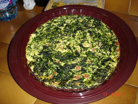 Tourte de tofu aux épinards Tourte11