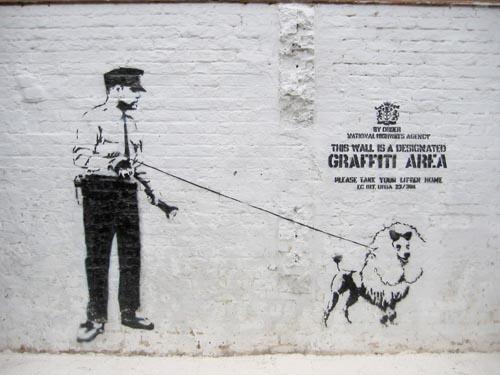 Una muestra pictórica de Banksy Banksy10
