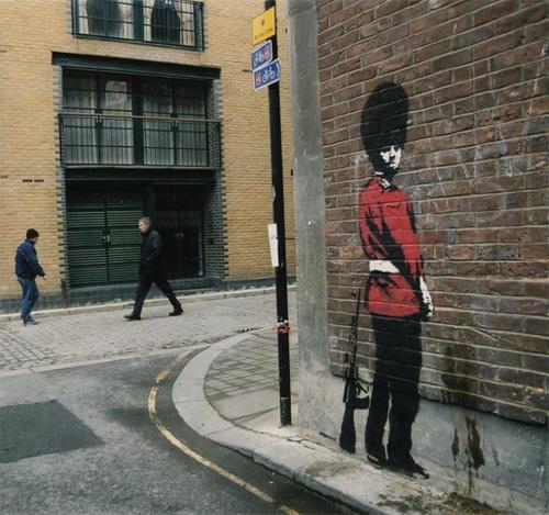 Una muestra pictórica de Banksy Banksy11