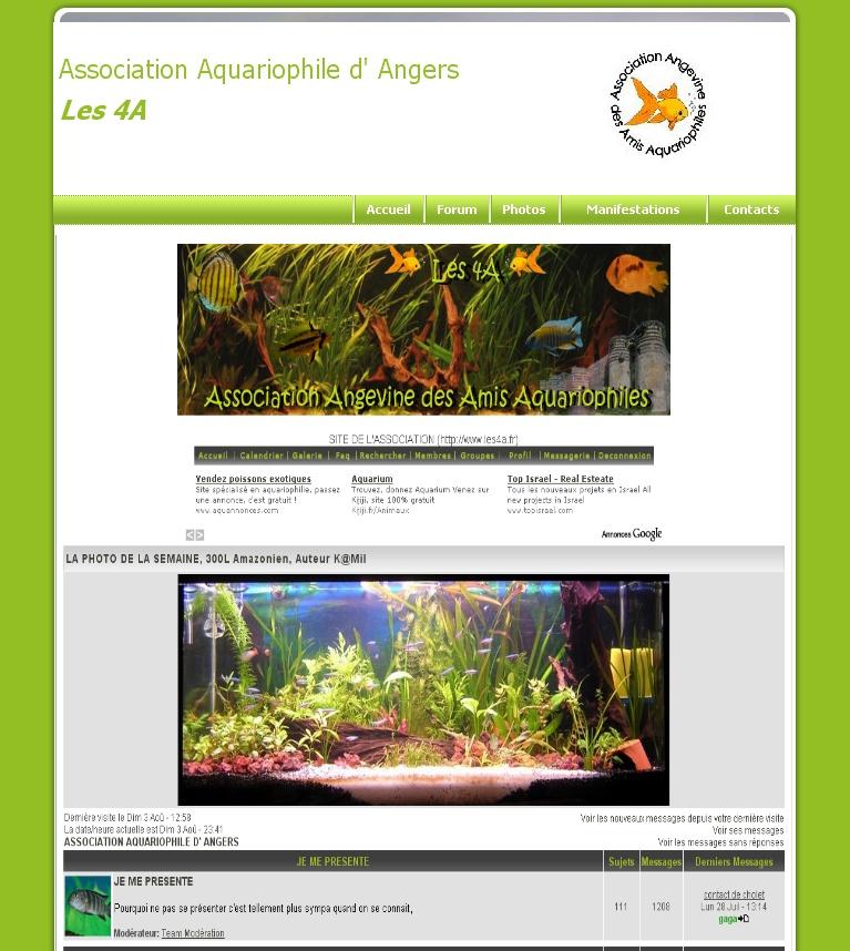 Integration du forum au site Les4a310