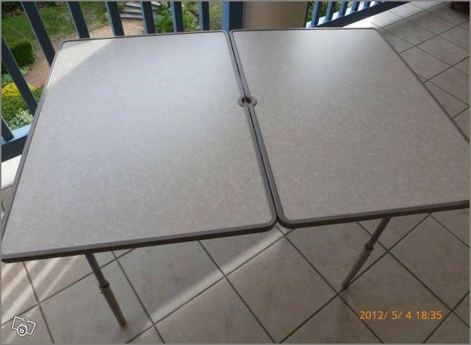 Achat d'une tables Captu282