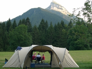 Camping dans le vercors Tentes10