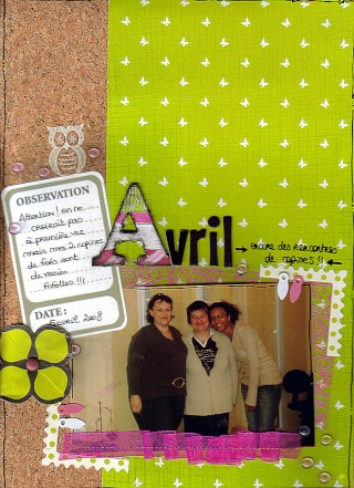Comptine du Scrapbooking Day ! - Page 2 Avril11