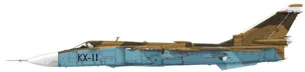 الطائرة المقاتلة المتعددة المهام السو-24  (SU – 24 (Sukhoi Su24mk10