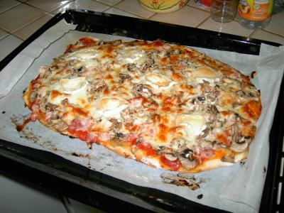 PIZZA AU SAUMON FUME Pizza10