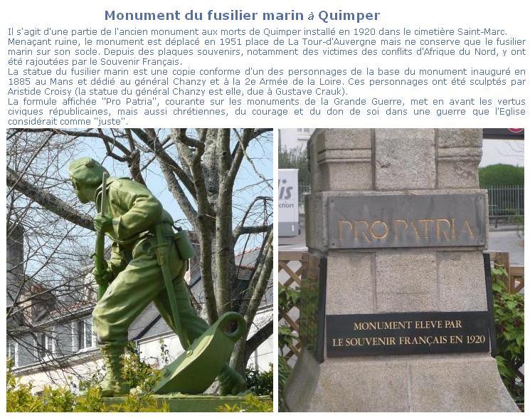 [Histoires et Histoire] Monuments aux morts originaux Français Tome 1 Quimpe10