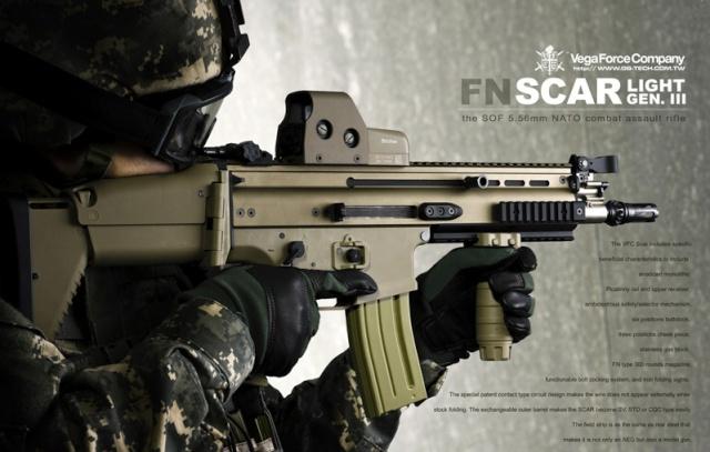 تشكيلة لأشهر البنادق الآلية للجنود المشاة Vfcsca10