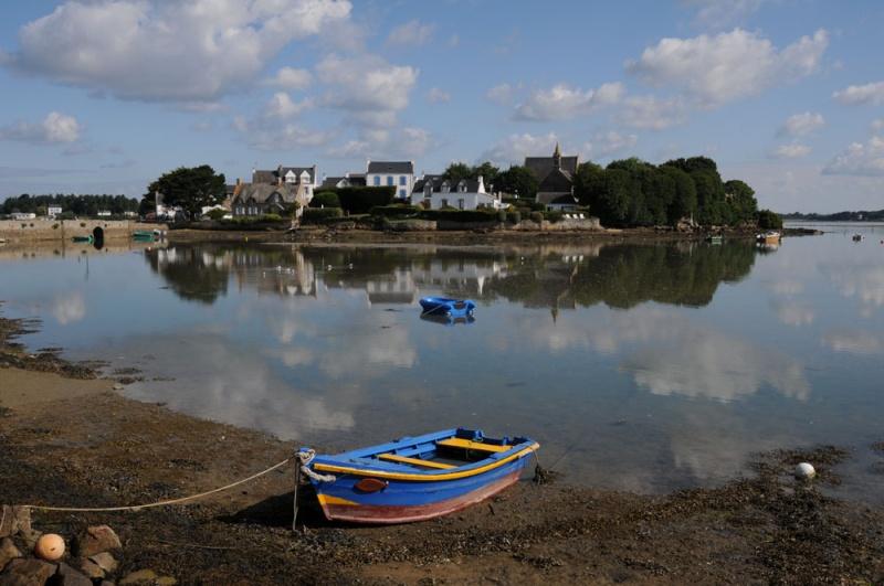 Reflet sur Saint-Cado (Morbihan) 56belz12