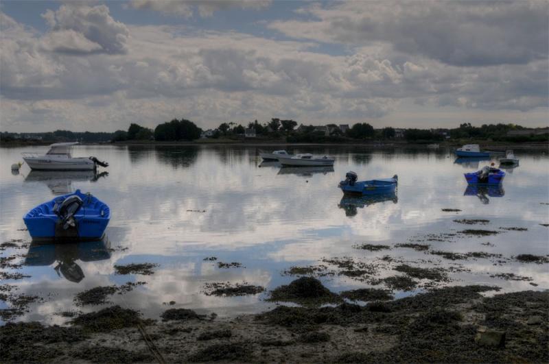 Reflet sur Saint-Cado (Morbihan) 56belz13