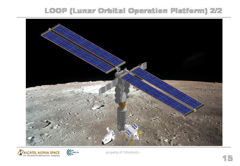 Une station européenne en orbite lunaire.... pourtant nous ne sommes pas le 1er avril!! Slide111