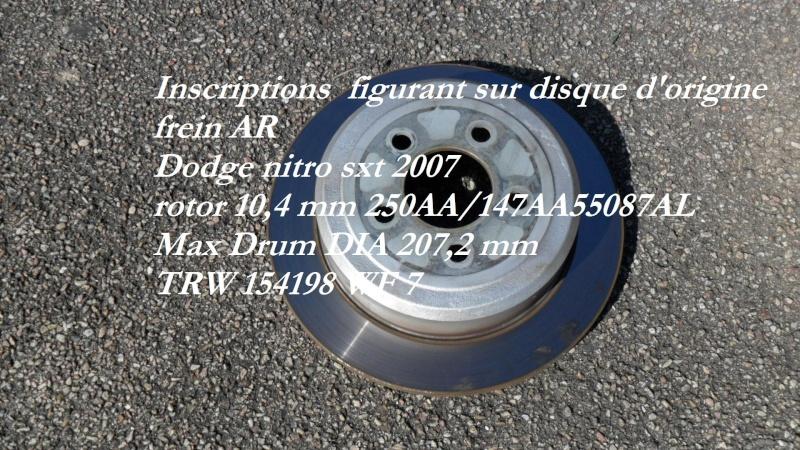remplacement plaquettes de frein AV (et bientot AR...) - Page 5 Disque10