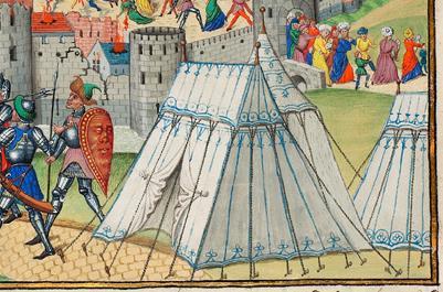 Les Tentes médiévales - Page 2 12050510