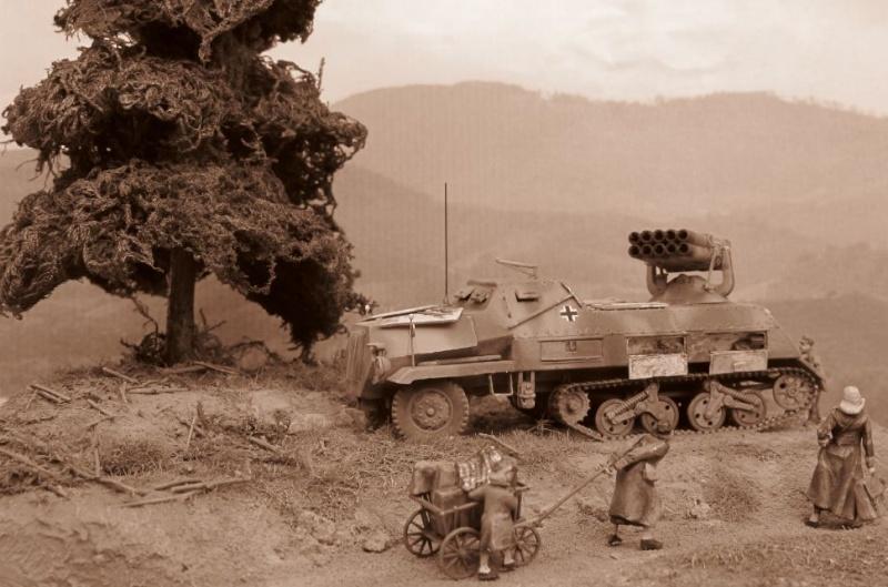 panzerwerfer 42 1/72 Aa06210