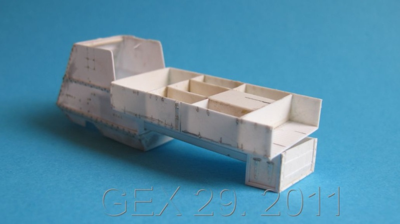 ARMORED  AUTOCAR Canadian mg carrier WWI ( scratch ) 1/72° Terminé Ac00510