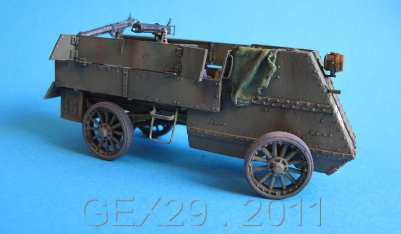 Canadian armoured autocar 1918 - Scratch 1/72 Acc02210