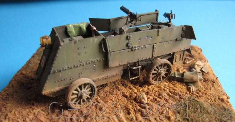 Canadian armoured autocar 1918 - Scratch 1/72 Acc03110