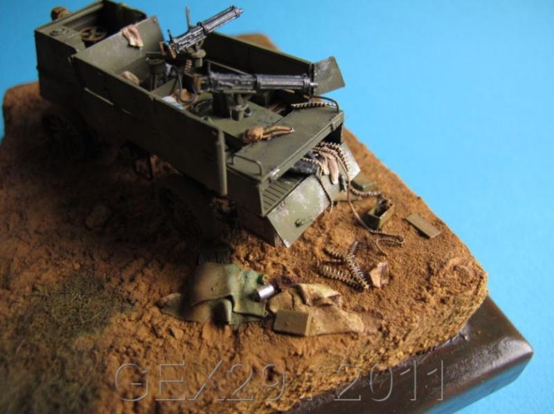 Canadian armoured autocar 1918 - Scratch 1/72 Acc03210