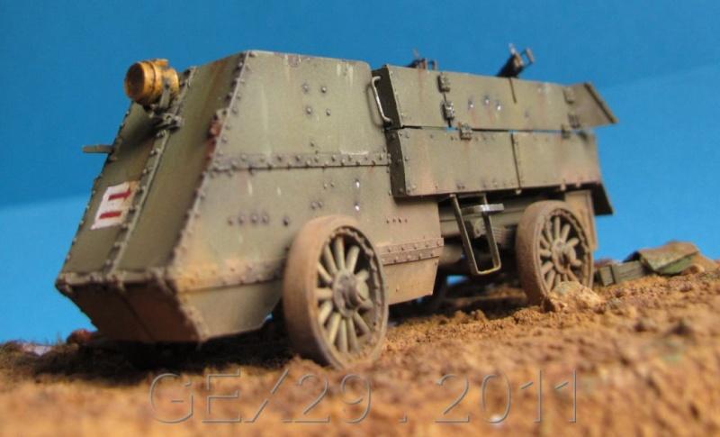 Canadian armoured autocar 1918 - Scratch 1/72 Acc03310