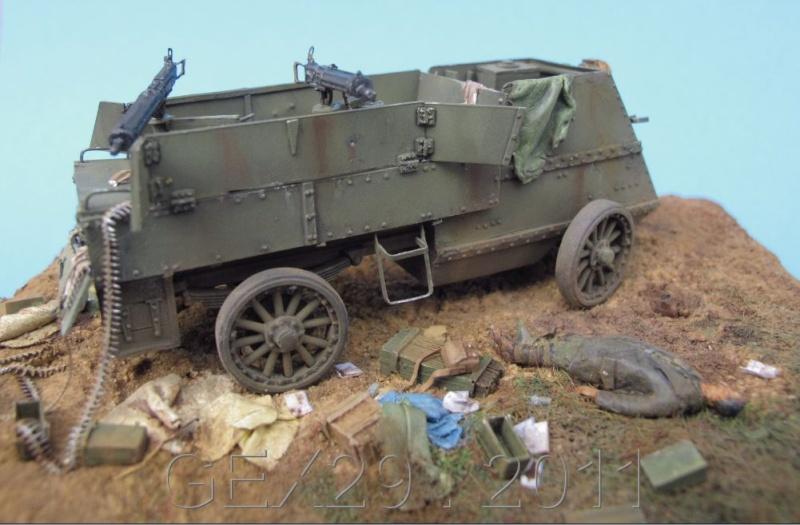 Canadian armoured autocar 1918 - Scratch 1/72 Acc06010