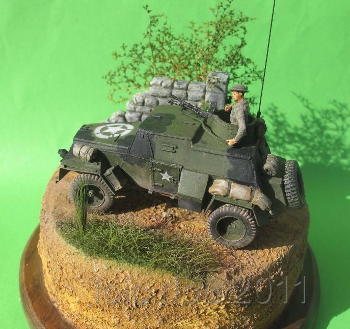 humber light recon car mk3 ( scratch ) 1/72  TERMINE!!! - Page 3 Humb8016