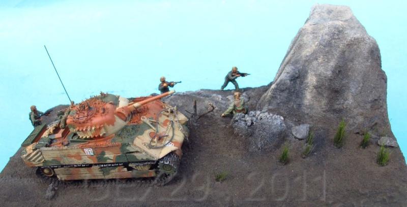 M4a3 usmc iwo jima 1/72° Iwo9910